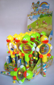 Rattle Drum Duck Toy Candy (80619) pictures & photos