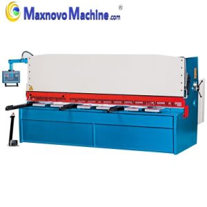 CNC Hydraulic Swing Beam Cutting Plate Shearing Machine (MM-KHTD4012) pictures & photos