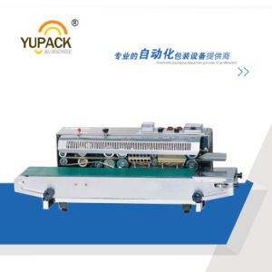 Hot Sale Automatic Horizontal Continuous Band Sealer with Printer pictures & photos