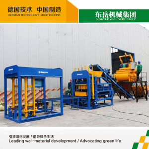 Angola Brick Making Machine Packaging Qt4-15 Dongyue Machinery Group pictures & photos