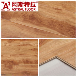 12mm High Gloss Laminate Flooring Am5562 (U-Groove) pictures & photos