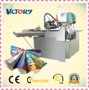 Best Selling Ice Cream Paper Cone Sleeve Machine