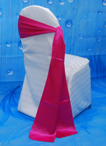 100% Polyester Chair Satin Sash for Banquet pictures & photos
