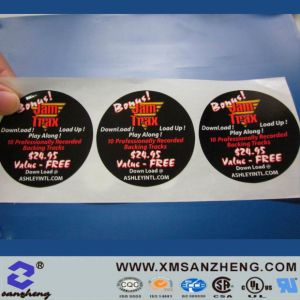 Custom Full Color Tear Resistant Glossy Packaging Self Adhesive Labels pictures & photos