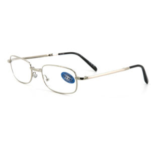 New Fashion Foldaway Metal Reading Glasses with Case pictures & photos