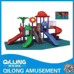 Outdoor Slides Playground Equipment (QL14-109B) pictures & photos