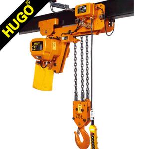 1ton Electric Chain Hoist Pulley Block Low Headroom Hoist Crane pictures & photos