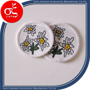 Hands Garment Embroidery Pacth/Circular Machine Embroidery Badge pictures & photos