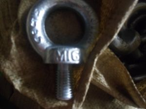 Galvanized Eyebolt DIN580 Eye Bolt pictures & photos