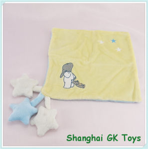 Baby Handkerchief with Stars Plush Handkerchief pictures & photos