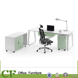 Office Manager Director Desk with Side Cabinet pictures & photos