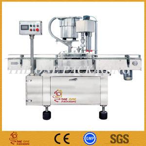 Automatic Rotary Capper with Touch Screen /Cheaper Bottle Capping Machine pictures & photos