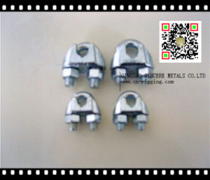 Us Type Malleable Wire Rope Clip for Rope Loop Strain pictures & photos