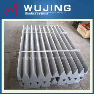 China High Manganese Steel Jaw Crusher Liner Plate