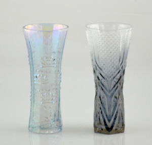 Glass Vase with Beautiful Printing pictures & photos