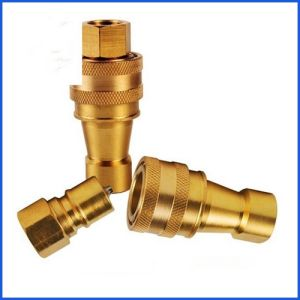 NPT Thread Brass Quick Disconnect Coupling