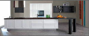 2015welbom Antique White Solid Wood Kitchen Furniture pictures & photos