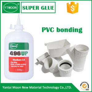 Black Rubber Toughened Cyanoacrylate Adhesive pictures & photos