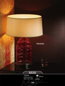 Glass Entrance Table Lamp for Hotel Project pictures & photos
