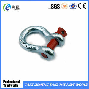 G213round Pin Anchor Shackle (1/4-2) pictures & photos