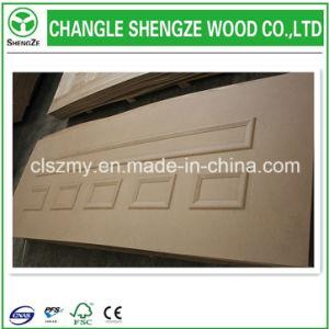 3mm Wood Veneer Laminated Door Skin pictures & photos