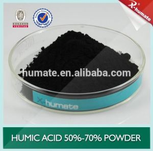 X-Humate 70%Min Powder Humic Acid Basal Fertilizer pictures & photos