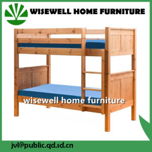 Solid Pine Wood Girls Bed (W-B-0082) pictures & photos