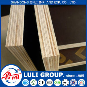18mm Marine Grade Film Faced Shuttering Plywood for Construction (1220X2440mm, 1250X2500mm) pictures & photos