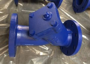 Cast Iron Flange Ends Y Type Strainer PN16 pictures & photos