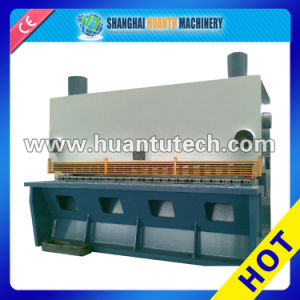 CNC Shearing Hydraulic Automatic Iron Sheet Guillotine Machine pictures & photos