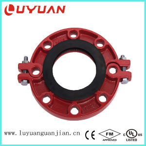 Ductile Iron Grooved Flange Fitting and Class 150 Coupling with FM UL pictures & photos