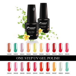 Soak off 194 Kinds Hot Colors Nail Art 15ml One Step UV Gel Polish pictures & photos