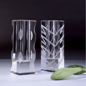 Crystal Flower Vase for Home Decoration (JD-HP-010) pictures & photos