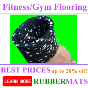 Fitness Center Rubber Floor, Home Gym Rubber Flooring pictures & photos