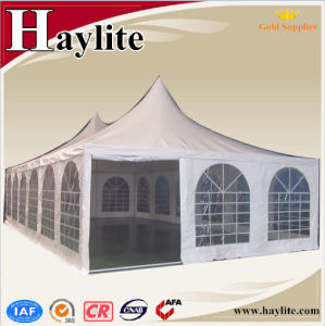 White PVC Pagoda Marquee Tent for Sale pictures & photos