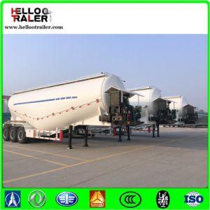 Golden 45cbm Dry Bulk Cement Trailer / Powder Transport Tanker Semi Trailer pictures & photos