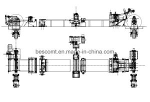 Thin Steel Coil Slitting Line with Slitter Machine and Recoiler pictures & photos