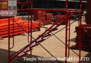 Construction Scaffolding Frame Work Vertical Walkthrough Main Frames pictures & photos