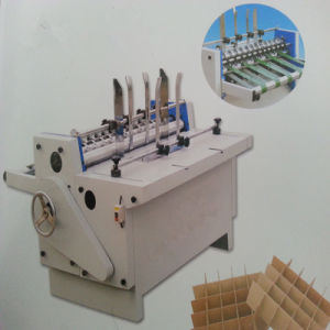 High Speed Condition Automatic Corrugated Cardboard Partition Slot Machine pictures & photos