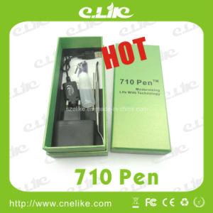 2014 Newest Portable Wax Atomizer 710 Pen with Pen Hanger E-Cigar