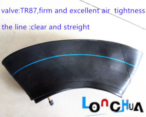 Natural Rubber Motorcycle Inner Tube (4.00-8) pictures & photos