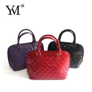 Fashion PU Leather Ladies Tote Handbag pictures & photos