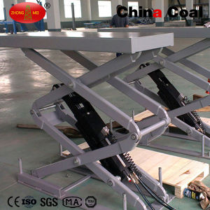 Hydraulic Scissor Welding Manual Car Lifter pictures & photos