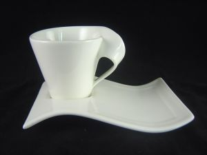 Porcelain Cappuccino Cup and Saucer 150ml