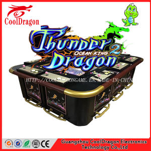 Fish Hunter Coins Arcade Video Fishing Game Arcade Game Machine pictures & photos