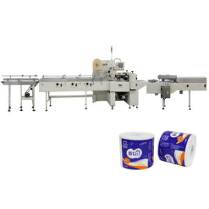 2 Rolls Automatic Toilet Rolls Wrapping Machine Packing Machine pictures & photos