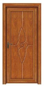 Aluminum Wood Door, Outside Aluminum Inside Wood, Room Door (CL-D2009) pictures & photos