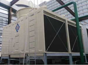 Cross Flow Rectangular 2cells CTI Certified FRP Water Cooling Tower pictures & photos