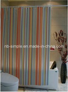 Stripe PVC Shower Curtain (SC5068)