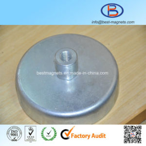 D40mm High Quality Strong Power Ferrite Magnet Pot pictures & photos
